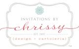 Invitations by Chrissy Logo