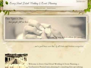 Every Final Detail, Beespoke Weddings & Events